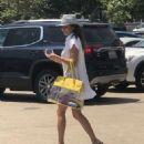 Brooke Burke in Mini Dress – Out in Malibu - 454 x 585