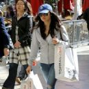 Lucy Hale shopping at The Grove in Los Angeles, CA (February 20)