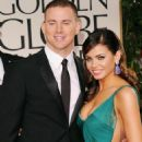 Channing Tatum & Jenna Dewan: 2012 Golden Globe Awards