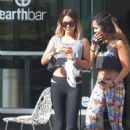 Vanessa Hudgens At The Gym In La