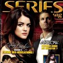 Lucy Hale, Stephen Amell - series mag Magazine Cover [France] (January 2014)
