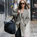 Myleene Klass – Candids at Global Radio Studios London
