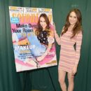 Troian Bellisario attends the Seventeen Magazine February issue unveiling at Barnes & Noble 82nd Street on January 7, 2014 in New York City - 422 x 594
