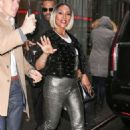 Vivica A. Fox – Leaving SiriusXM studios in NYC