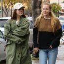 Lana Del Rey and a friend are spotted out shopping in Sherman Oaks, California on January 23, 2017 - 454 x 568
