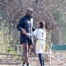 Seal spotted out in Los Angeles watching his kids flag football game Saturday October 15, 2016 - 454 x 538