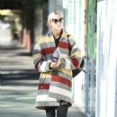 Ashlee Simpson wears a colorful coat to the gym in LA - 454 x 642