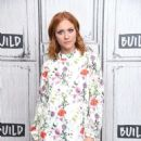 Brittany Snow – On AOL Build in NYC