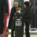 Ashlee Simpson and husband Evan Ross out shopping at OnePiece in West Hollywood, California on January 8, 2015 - 454 x 548