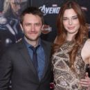 Chloe Dykstra and Chris Hardwick - 400 x 620