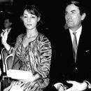 Gregory Peck and Veronique Passani