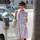 Selma Blair – Grabs coffee at Alfred's in Studio City