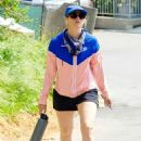 Beth Behrs – Out for a walk in Los Angeles - 454 x 681