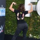 Francia Raisa – WWE 20th Anniversary Celebration in Los Angeles - 454 x 609