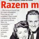 Anne Buydens Douglas and Kirk Douglas - Tele Tydzień Magazine Pictorial [Poland] (20 July 2018) - 454 x 1185