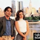Gabrielle Anwar and Michael J. Fox - 454 x 350