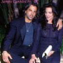 Terry Farrell and Richard Grieco