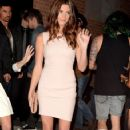 Ashley Greene arrives at NYLON Magazine August Issue Launch Party hosted by Ashley Greene at Blok on July 31, 2012 in Hollywood
