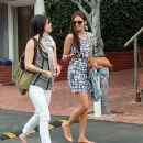 Nina Dobrev Goes Shopping And Gets Some Lunch In West Hollywood - 358 x 368