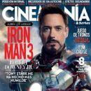 Robert Downey Jr. - Cinemanía Magazine Cover [Spain] (April 2013)