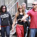 Jennifer Aniston - Leaving The Set Of The Baster April 28 2009
