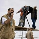 Director Asghar Farhadi on the set of About Elly.