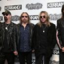Judas Priest attends the Relentless Energy Drink Kerrang! Awards at the Troxy on June 11, 2015 in London, England. - 454 x 276