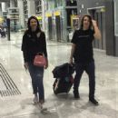 Luciana Gimenez and her Lucas Jagger at airport - 2016 - 454 x 454