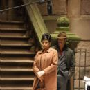 Jennifer Hudson and Marlon Wayans – Filming the Aretha Franklin biopic 'Respect' in New York City