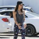 Jenna Dewan Tatum at the Body Factory Gym in West Hollywood