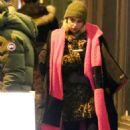Emilia Clarke – Filming 'Last Christmas' in East London