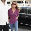 Giada De Laurentiis spotted departing a flight out of Los Angeles Int'l Airport July 29, 2015 - 400 x 600