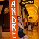 Adrianne Curry At Andreas In Encore Beach Club In Wynn Las Vegas