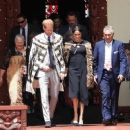Meghan Markle – Welcomed by Maori warriors in New Zealand