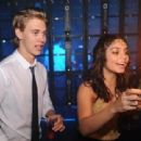 Vanessa Hudgens rang in 2012 with her boyfriend, Austin Butler, at the Fontainebleau Hotel in Miami, December 31
