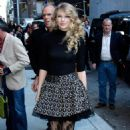 "Taylor Swift - Visits ""Late Show With David Letterman"" In New York City, 10.11.2008."