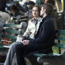 "Leighton Meester: on the New York City set of ""Gossip Girl"""