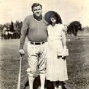 Babe Ruth and Claire Merritt Hodgeson - 199 x 221