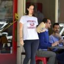 Lana Del Rey in Tights – Out in Los Angeles - 454 x 576