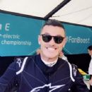 Luke Evans- July 3, 2016- Visa London ePrix - 352 x 400