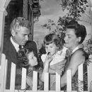 Jeff Chandler and Marjorie Hoshelle
