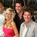 Ty Pennington with cast of Extreme Home Makeover