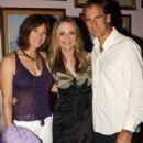 Scott Bakula and Chelsea Field with Peggy Lipton