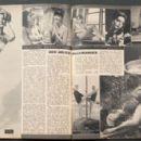 Maria Perschy, Ingrid Schoeller - Cine Tele Revue Magazine Pictorial [France] (25 June 1964) - 454 x 295
