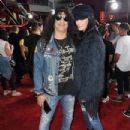 Slash and Meegan Hodges attend Halloween Horror Nights 2018 at Universal Studios Hollywood on September 14, 2018 in Los Angeles, California - 433 x 600