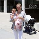 Kelly Rutherford - Out For A Business Meeting In West Hollywood 06-24-2010