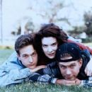 Josh Charles, Lara Flynn Boyle And Stephen Baldwin In Threesome (1994) - 236 x 307