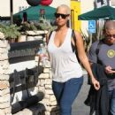 Amber Rose Getting Coffee in Hollywood, California - December 18, 2009