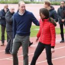 Prince William, Duchess Catherine and Harry visited London Marathon Day - 438 x 600