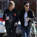 Kristen Stewart With Alicia Out In Los Angeles